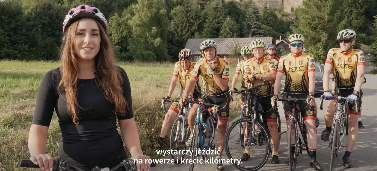 """Sportowe wyzwanie dla rowerzystów! ,,Bądź aktywny z VIVO! Krosno"""" (VIDEO, ZDJĘCIA)"""