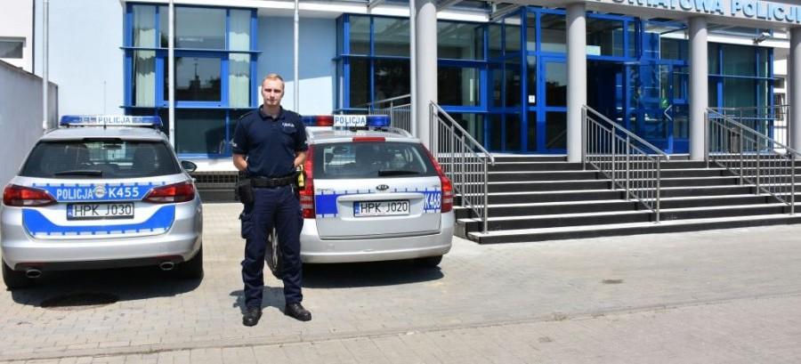 Policjant po służbie zatrzymał złodzieja