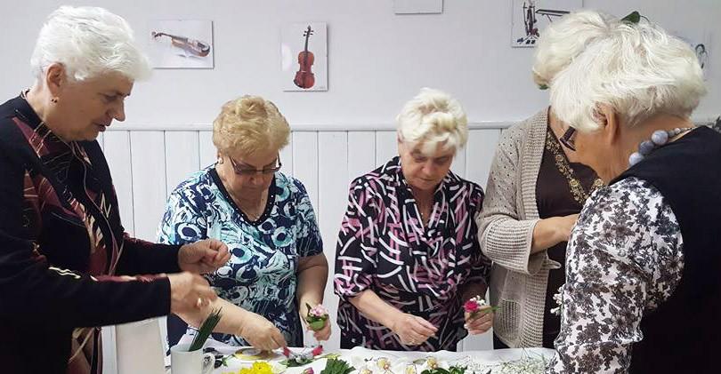 """Warsztaty """"Senior z Kulturą"""" w oddziałach RDK"""