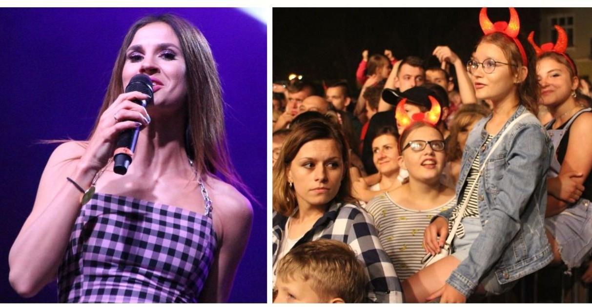 Świetna zabawa podczas Dni Łańcuta! Sylwia Grzeszczak porwała publiczność! (VIDEO, ZDJĘCIA)