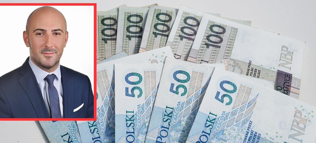 Burmistrz Leska ujawnił zarobki Dawida Lipki. To jest dużo, czy mało?