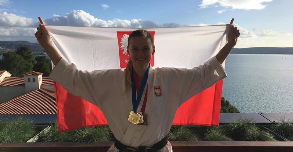 Rzeszowianka z trzema medalami Mistrzostw Europy Fudokan!