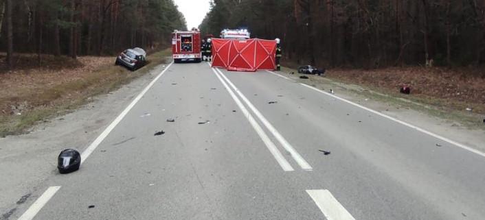 Tragedia na drodze. Zginęła kobieta jadąca skuterem