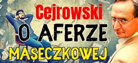 Wojciech Cejrowski o węglu, aferze maseczkowej i czynszówkach