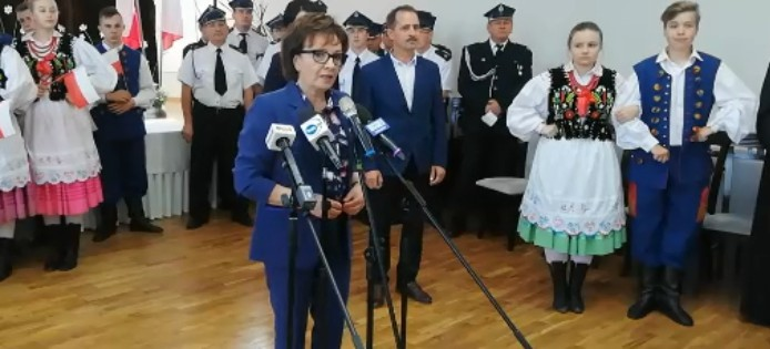 Marszałek Sejmu RP Elżbieta Witek w Niebocku! (VIDEO)