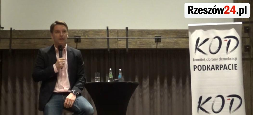 RZESZÓW: Tomasz Lis rozmawiał z mieszkańcami. Zobacz najciekawsze fragmenty! (FILM)