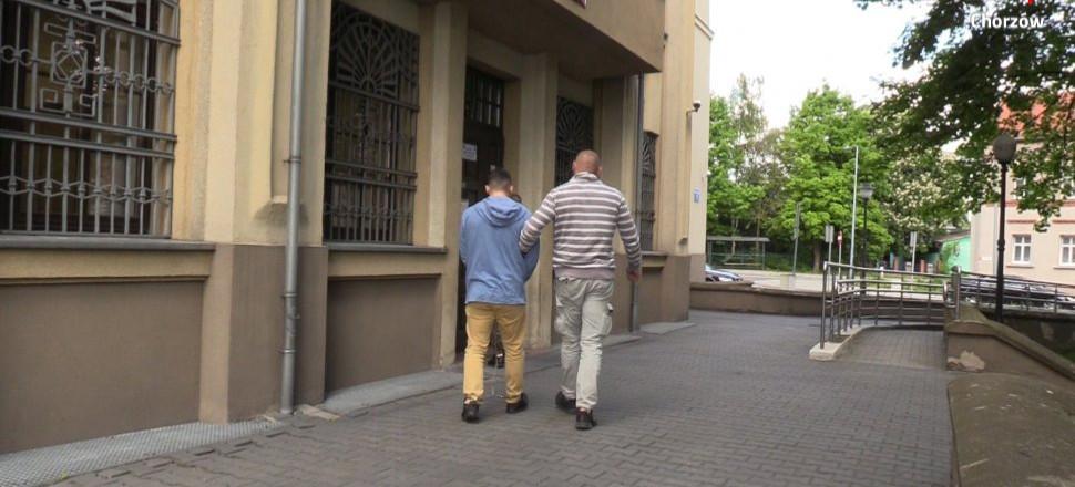 Mieszkaniec Rzeszowa z zarzutem gwałtu na 14-letniej chorzowiance (VIDEO)