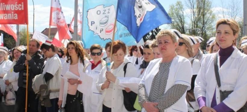 RZESZÓW. List poparcia dla dyrektora Bałaty po manifestacji pielęgniarek