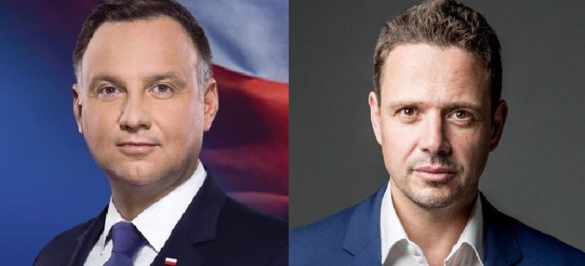 SONDAŻ LATE POLL: Duda 51%; Trzaskowski 49% (90 procent obwodów)