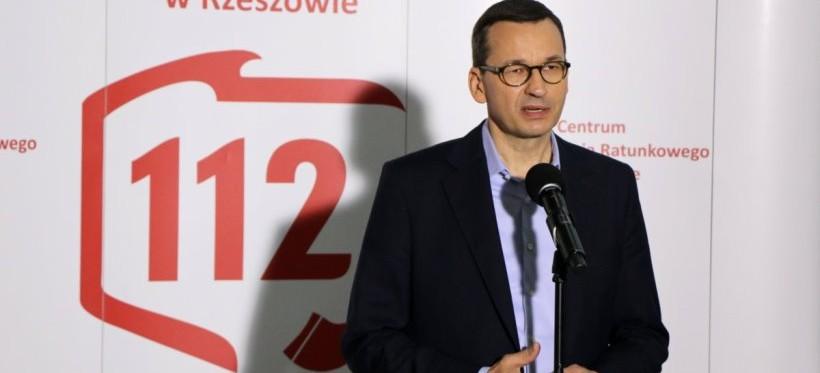 Premier w Rzeszowie. Rozmawiał z powodzianami i wspierał kampanię Andrzeja Dudy