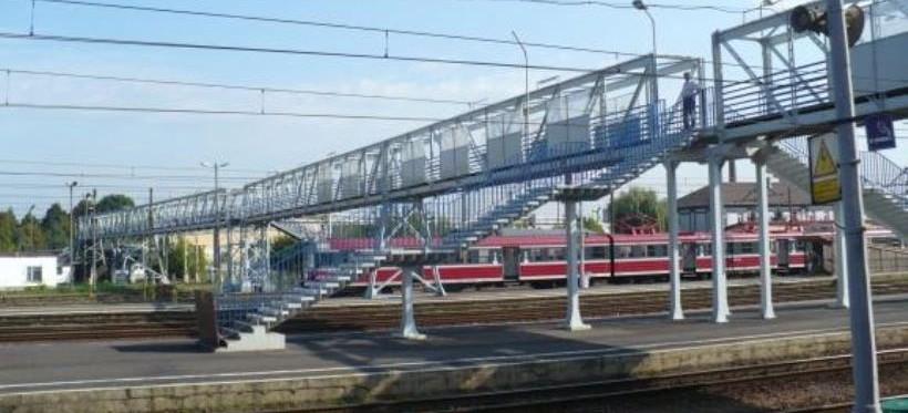 RZESZÓW: Wkrótce demontaż zabytkowej kładki kolejowej nad dworcem głównym
