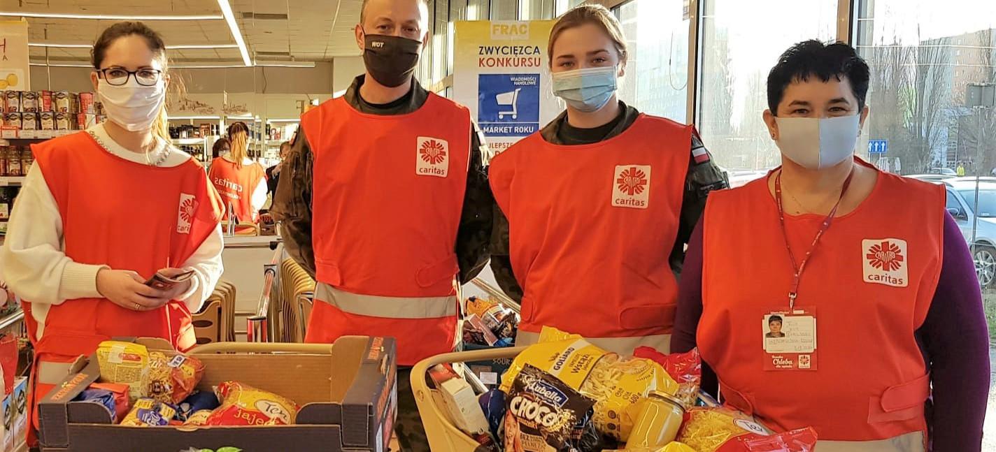 Akcja Caritas w Rzeszowie. 4000 kilogramów żywności dla ubogich!