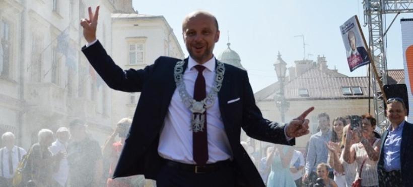 Konrad Fijołek zaprzysiężony na prezydenta: Zabieram się do pracy (ZDJĘCIA, VIDEO)