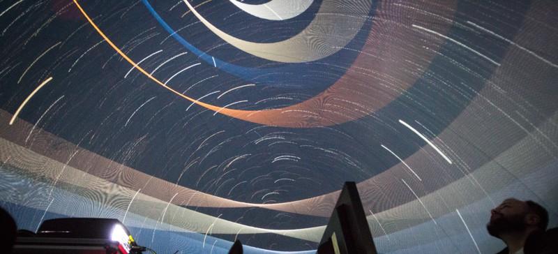 Mobilne planetarium z Centrum Nauki Kopernik stanęło pod Rzeszowem