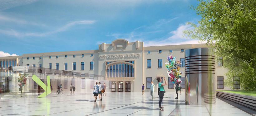 Budowa Rzeszowskiego Centrum Komunikacyjnego. Siedem firm złożyło oferty