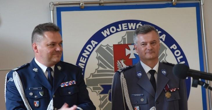 Pożegnanie inspektora Tadeusza Szymanka. Przechodzi na emeryturę (ZDJĘCIA)