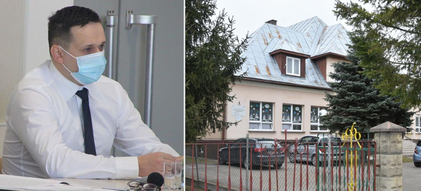 """Zdecydowane działania w sprawie przedszkola w Humniskach. """"To odpowiedź na wieloletnią bezczynność poprzednich władz"""" (VIDEO, ZDJĘCIA)"""