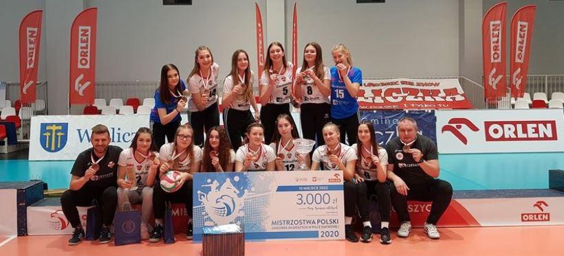 Siatkarki z Rzeszowa brązowymi medalistkami mistrzostw Polski juniorek!
