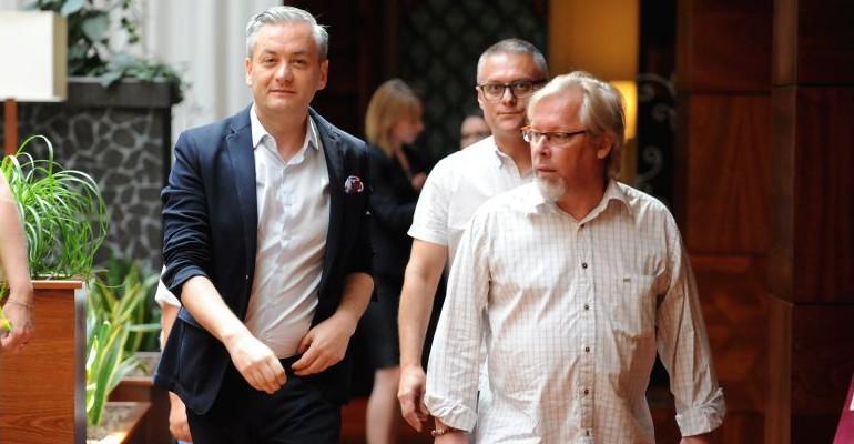 Robert Biedroń w Rzeszowie: Czułem się okropnie. Chciałem popełnić samobójstwo (FILM, ZDJĘCIA)