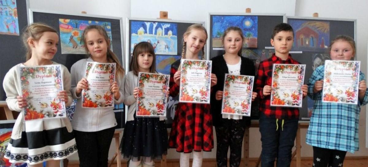 Sukcesy najmłodszych na powiatowym konkursie plastycznym (FOTO)