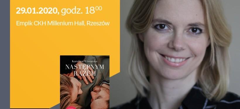Spotkanie autorskie z Karoliną Winiarską w rzeszowskim Empiku!