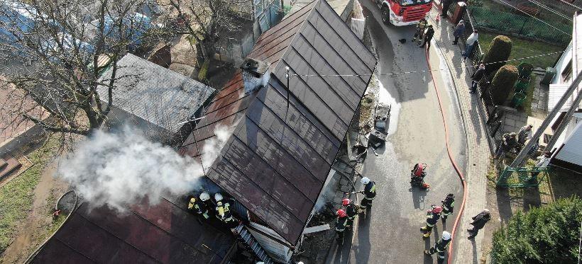 Tragiczny pożar w Kańczudze. Nie żyje 57-latek! (FOTO)