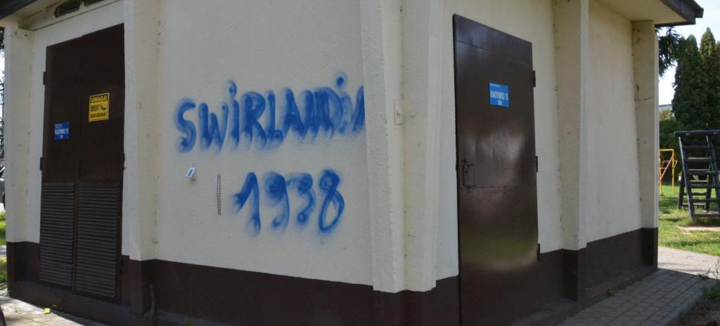 21-letni graficiarz pomalował 8 budynków. Grozi mu 5 lat więzienia