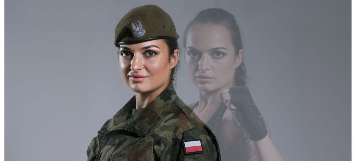 Justyna Haba – żołnierz WOT z Boguchwały, zawalczy w KSW!