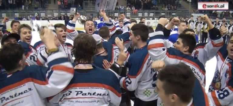 Historyczny sezon. Trzy złote medale. Mamy najlepszą hokejową młodzież w Polsce!