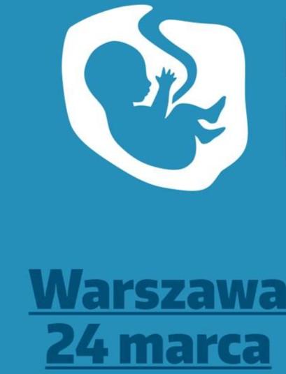 NIEDZIELA: Ulicami Warszawy przejdzie dziś Narodowy Marsz Życia