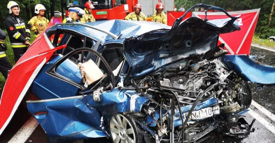 Sprawca tragicznego wypadku był pijany? Zbiórka pieniędzy dla dzieci ofiar (ZDJĘCIA)