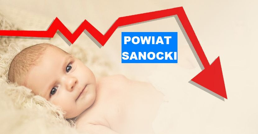 POWIAT SANOCKI: Spadek w meldunkach noworodków