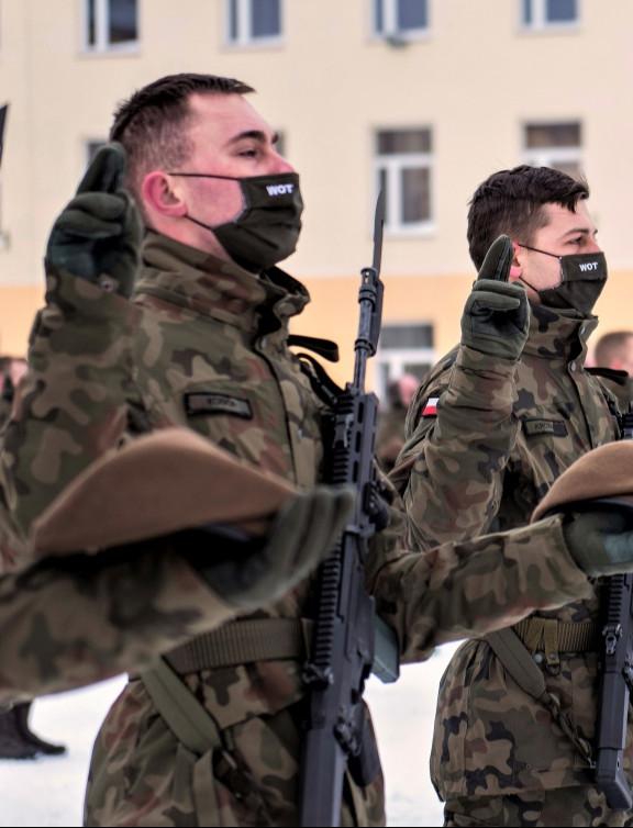 PODKARPACIE: Terytorialsi przysięgali w Rzeszowie (ZDJĘCIA)