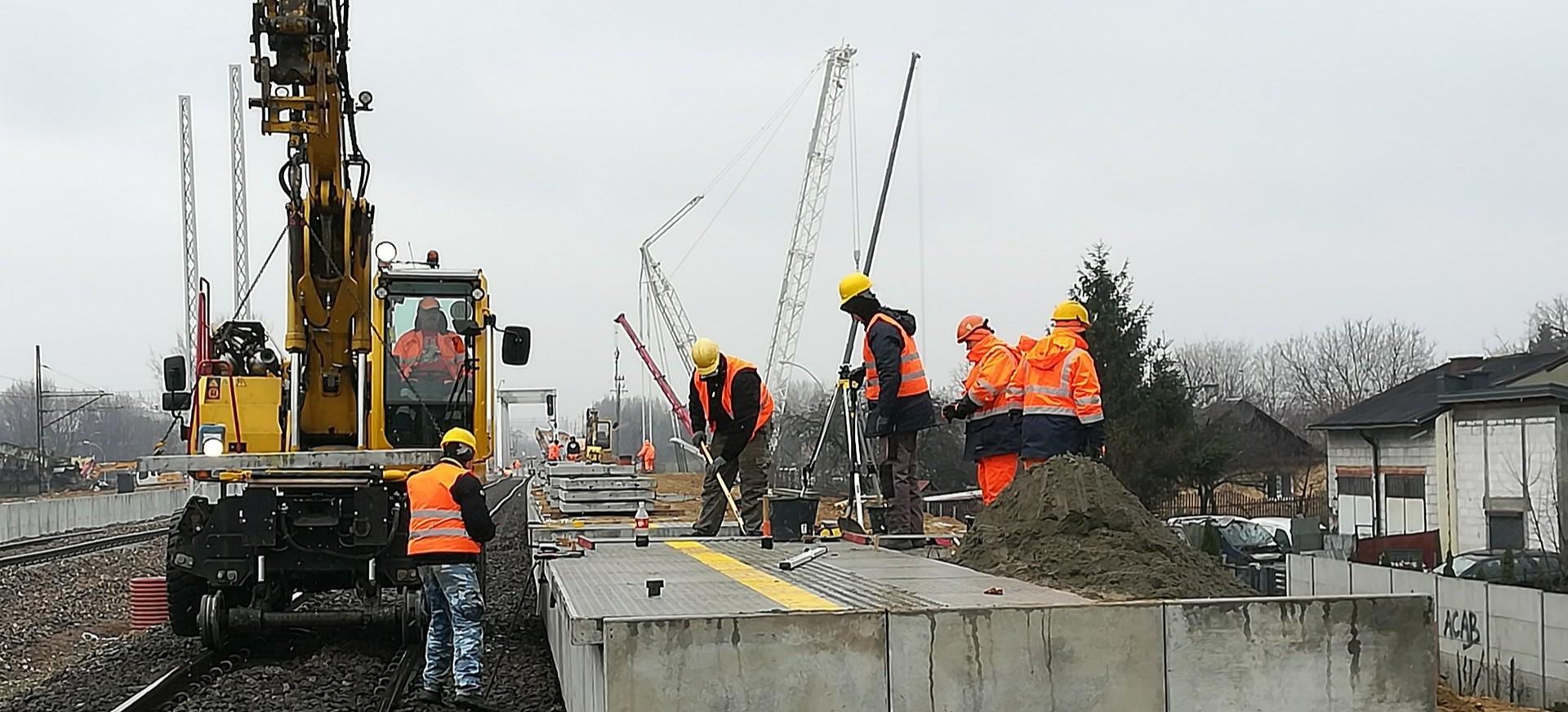 Powstaje przystanek kolejowy Rzeszów Zachodni. Trwa też remont stacji Rzeszów Główny