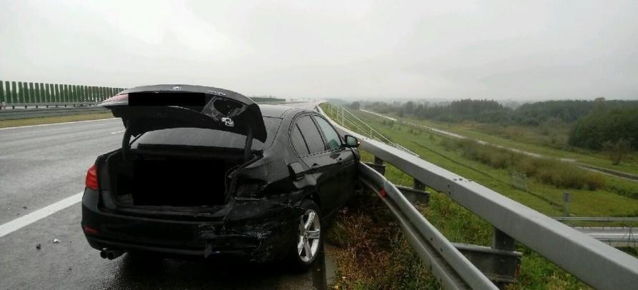 Niebezpieczne zdarzenia na autostradzie A4 (FOTO)