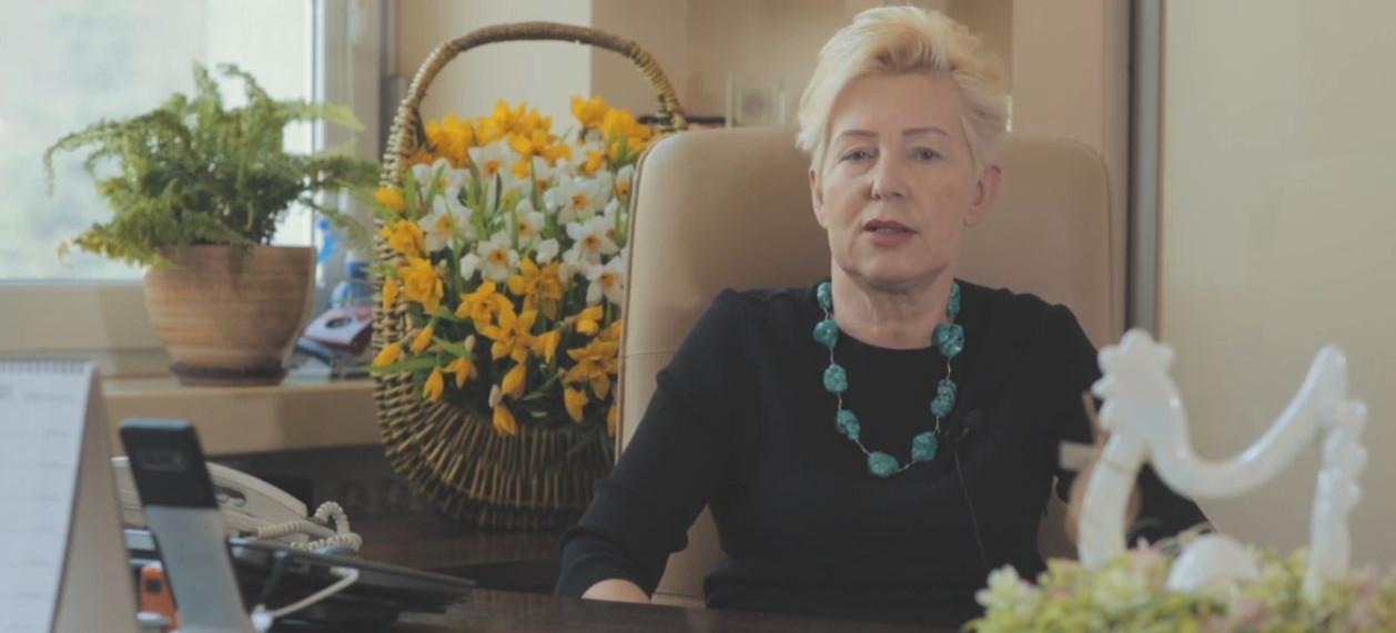 WÓJT ANNA HAŁAS: Zdrowia, pogody ducha, dużo słońca i wiosennego nastroju (VIDEO)