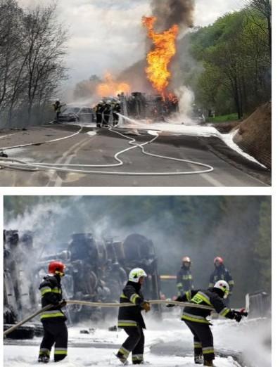 """""""To było piekło…"""".  Olbrzymi pożar cysterny na krajowej 19 (FOTORELACJA, VIDEO)"""