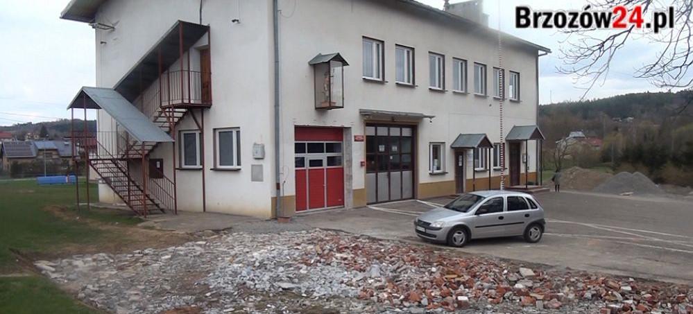 Będzie modernizacja placu przy Domu Strażaka w Zmiennicy (VIDEO, ZDJĘCIA)