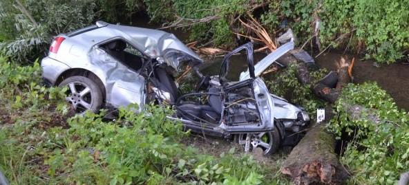 Dwie osoby ranne w wypadku w Lubeni (ZDJĘCIA)