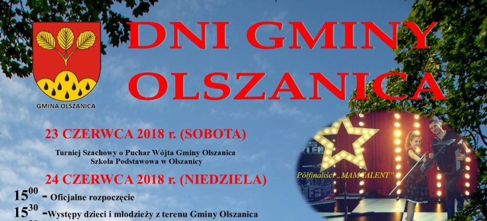 DNI GMINY OLSZANICA: Duet Gajda, Rompey, Sami. Sprawdź program!