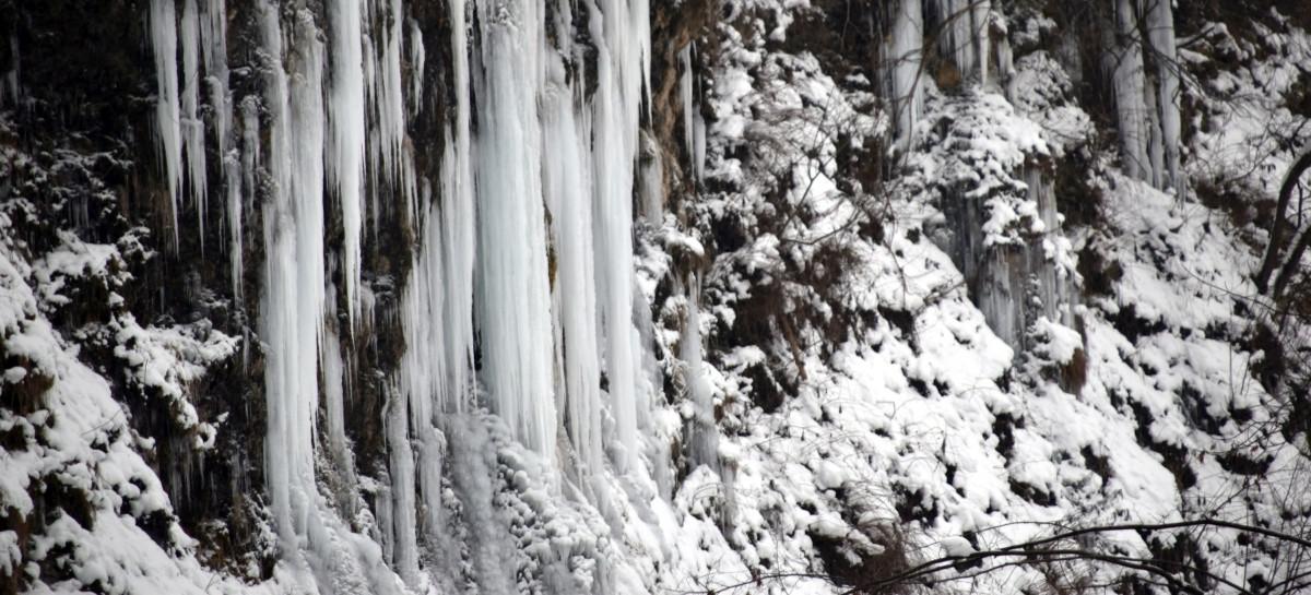 Zimowe wycieczki: Lodospady w Rudawce Rymanowskiej! (ZDJĘCIA)