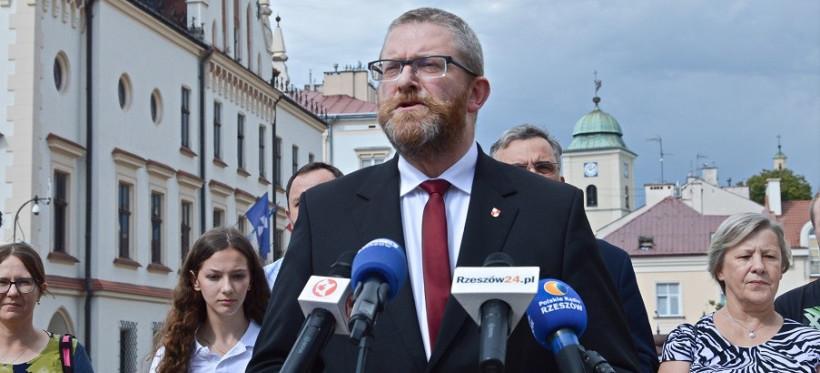 Grzegorz Braun w Rzeszowie: Stop Segregacji Sanitarnej (VIDEO)