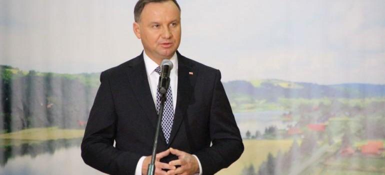 Andrzej Duda na Podkarpaciu. Odwiedzi miejsca dotknięte powodzią