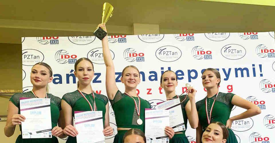 Grupa ArtDance reprezentująca Rzeszów zdobywcą dwóch brązowych medali podczas Krajowych Mistrzostw