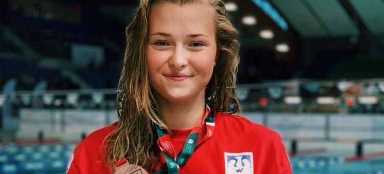 Rzeszowianka z tytułem Mistrza Polski w pływaniu! (ZDJĘCIA, WIDEO)