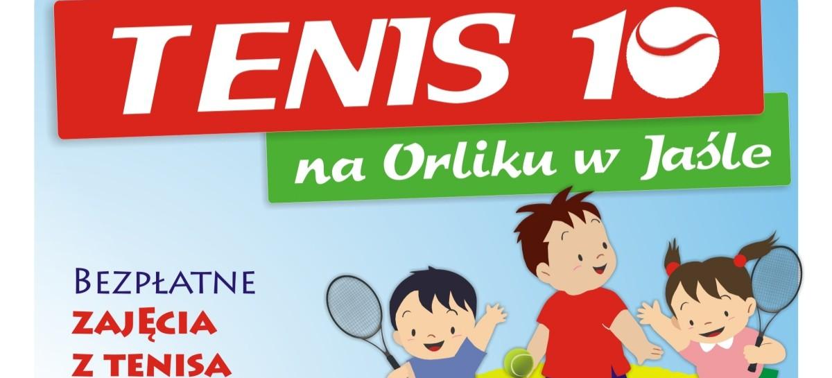 Tenis dla dzieci na Orliku w Jaśle