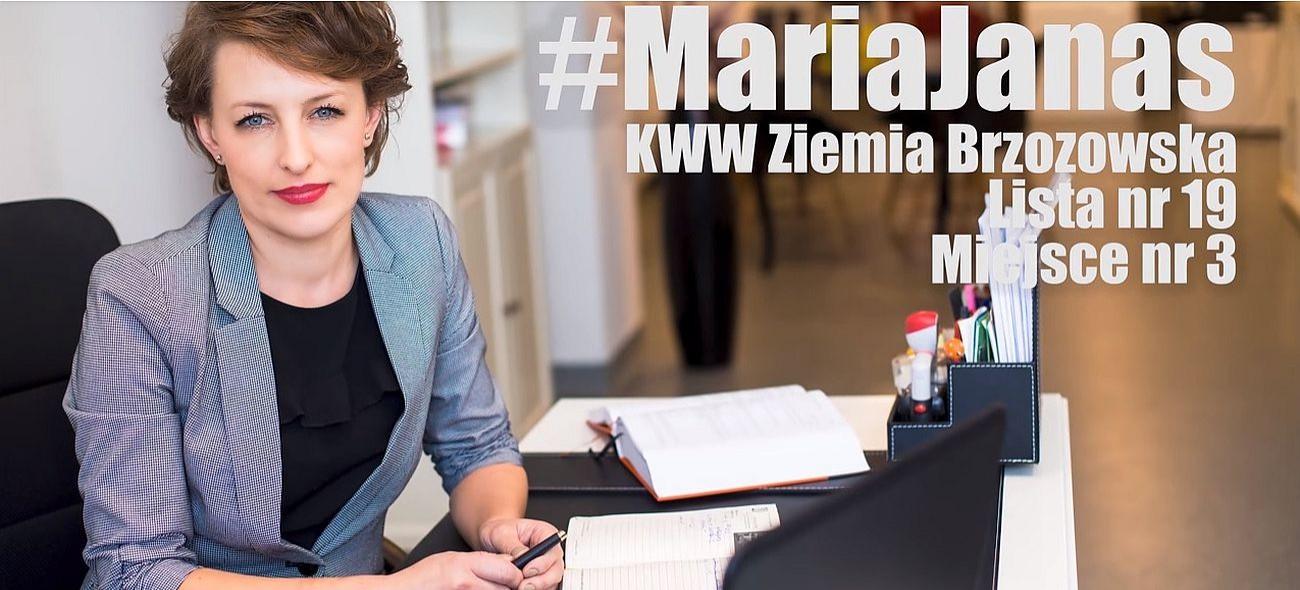 Maria Janas – moja wizja Brzozowa!