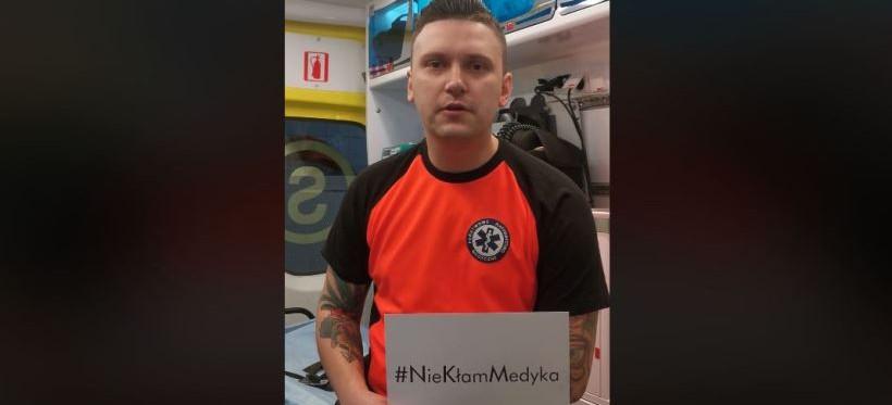 #NieKłamMedyka – Apel rzeszowskich ratowników medycznych! (WIDEO)