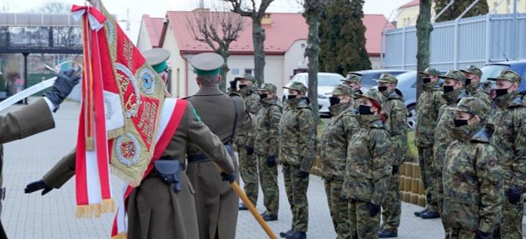 Nowi funkcjonariusze w szeregach Straży Granicznej