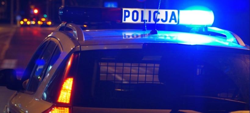 Policjanci eskortowali rodzącą kobietę do szpitala w Rzeszowie